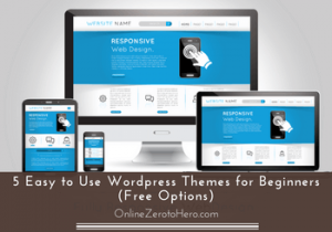 easy to use wordpress themes for beginners
