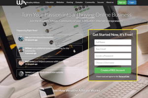 wealthy affiliate learning platform