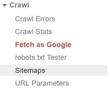 find fetch as google