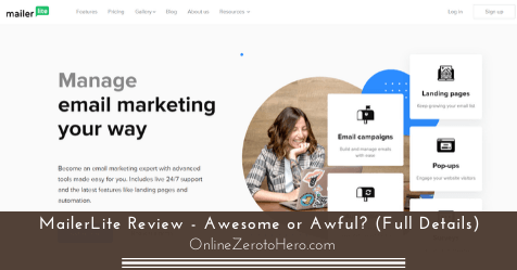 Email Marketing Mailerlite  Consumer Coupon Code 2020