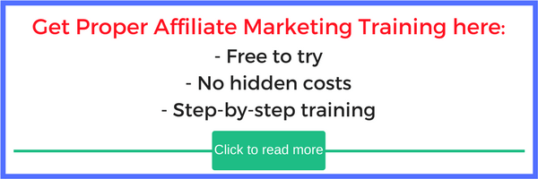 get proper affiliate marketing training