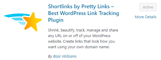 install pretty links
