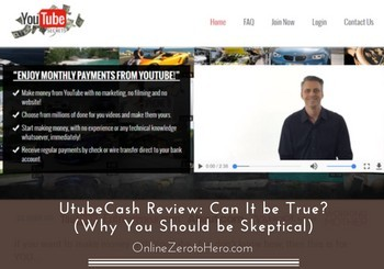 utubecash review