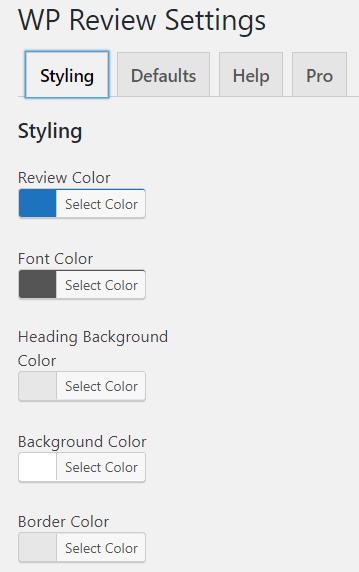 adjust basic settings