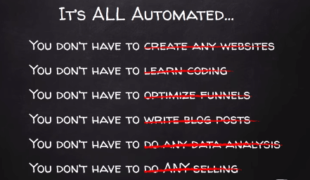 automated selling system claim