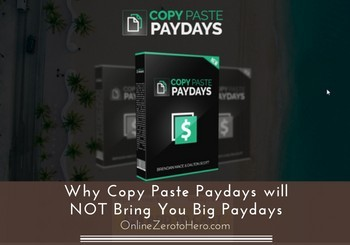 copy paste paydays review
