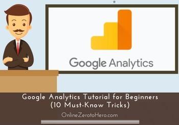 google analytics tutorial for beginner