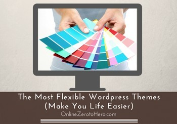 most flexible wordpress themes header