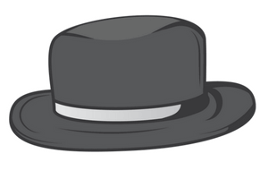 black hat seo symbol