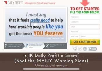 Is 1K Daily Profit a Scam? (Spot the MANY Warning Signs)