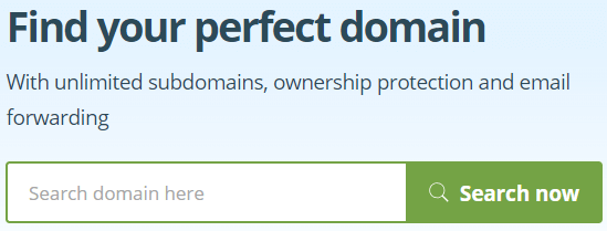one com domain search