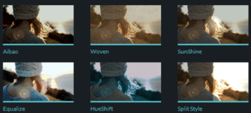 video filter examples