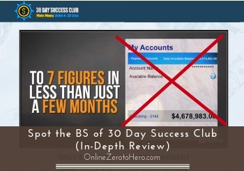30 day success club review header