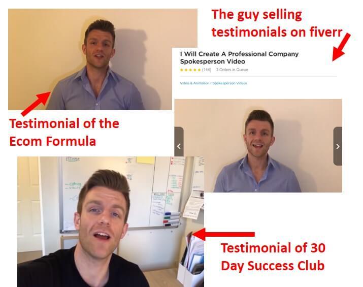 30 day success club testimonial