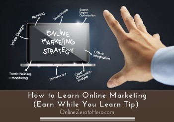 how to learn online marketing header
