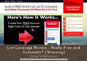 list leverage review header
