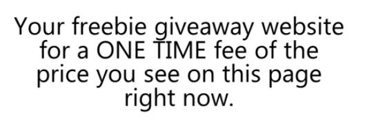 one time fee