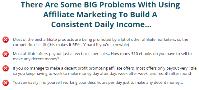 problems with affiliate marketing claims