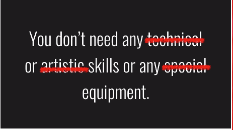 skills you do not need
