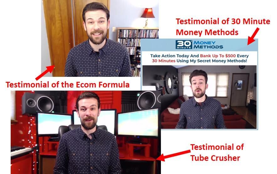 tube crusher fake testimonial