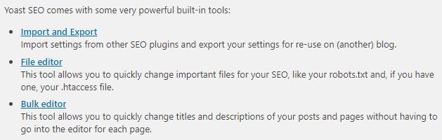 yoast file editor access