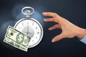 blogging time money concept