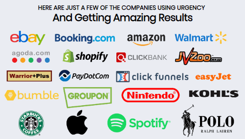 companies that use urgency
