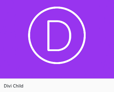 divi child theme example