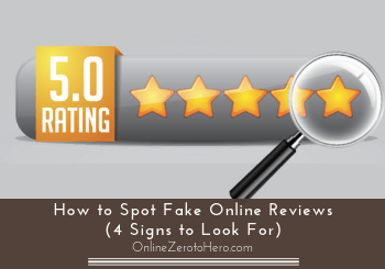 how to spot fake online reviews header