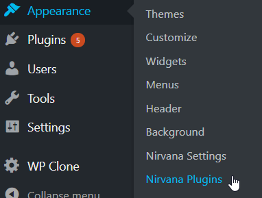 nirvana plugin installation