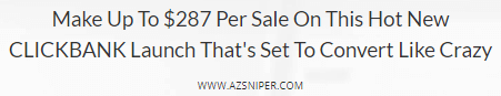 az sniper affiliate info