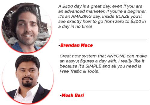blaze reviews examples