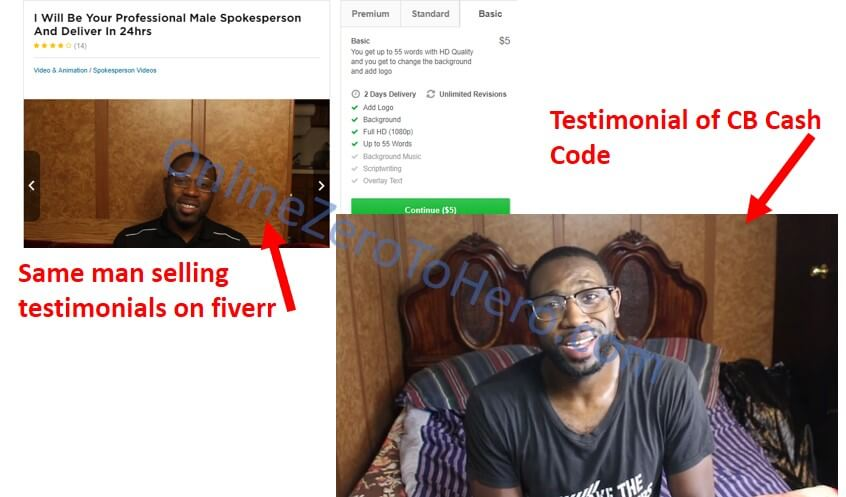 cb cash code fake testimonial example 2