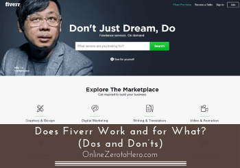 does fiverr work review header