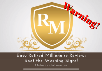 easy retired millionaire review header