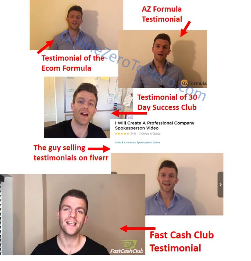 fast cash club false testimonial 1