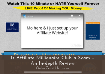 Is Affiliate Millionaire Club a Scam – An In-depth Review