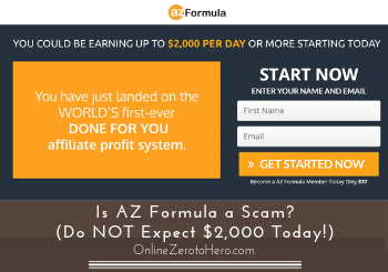 is az formula a scam review header