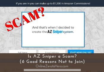 is az sniper a scam review header