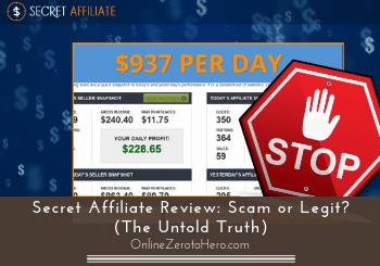 secret affiliate review header