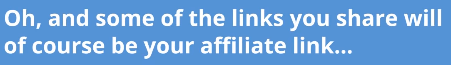 some affiliate links will be yours statement