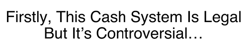 daily cash siphon controversial statement