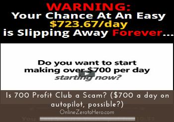is 700 profit club a scam header