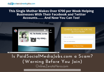 Is PaidSocialMediaJobs.com a Scam? (Warning Before You Join)