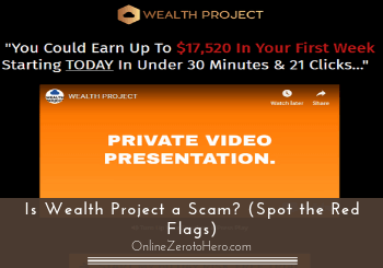 is wealth project a scam header