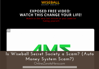 is wiseball secret society a scam header
