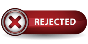rejected on cj icon