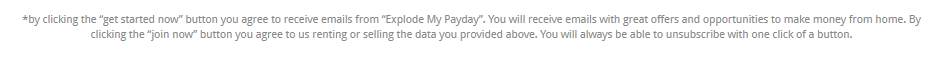 selling your data explode my payday