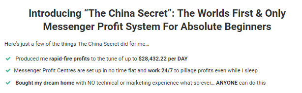 the china secret for beginners
