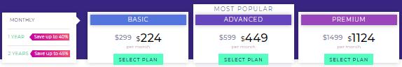 voluum tracker pricing